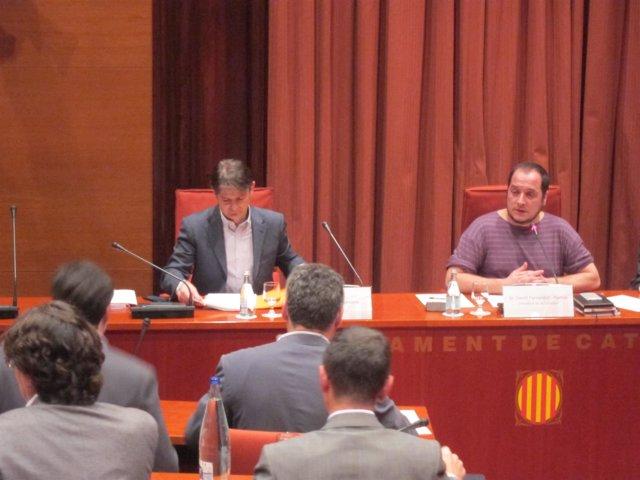 El ex diputado de CiU Oriol Pujol declara en la comisión sobre fraude