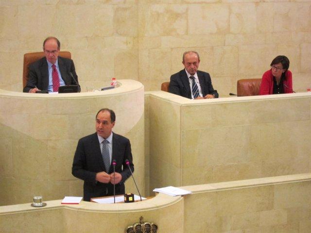 Diego en el Parlamento
