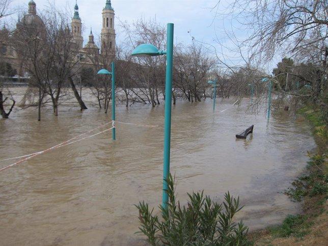 Crecida Extraordinaria del Ebro en Zaragoza
