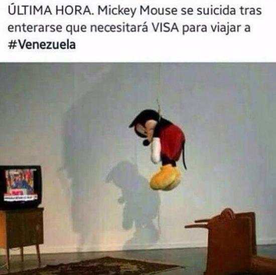 Meme Visa Venezuela