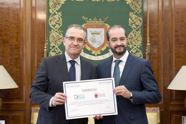 Enrique Maya y Juan Manuel Gómez.
