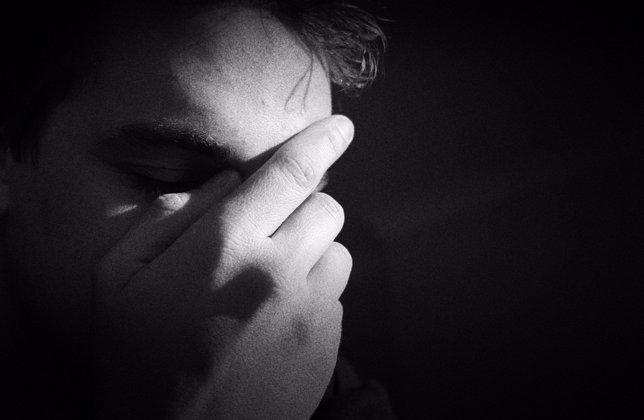 Persona con depresión