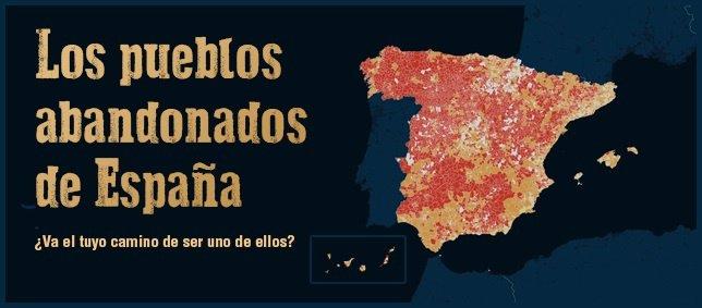 Los pueblos abandonados de España