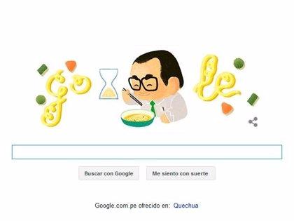Momofuku Ando, el creador de la sopa instantánea, homenajeado por Google