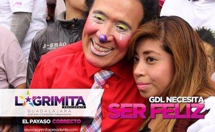 Un payaso se postula como candidato a la Alcaldía de Guadalajara (México)