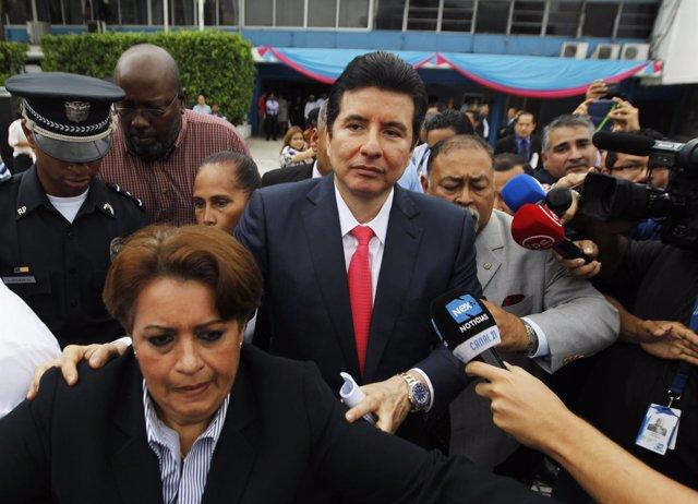 Alejandro Moncada Luna expresidente de la corte suprema de panamá