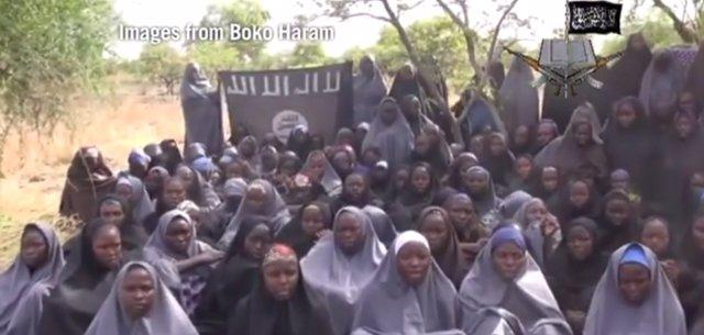 Niñas nigerianas secuestradas por Boko Haram