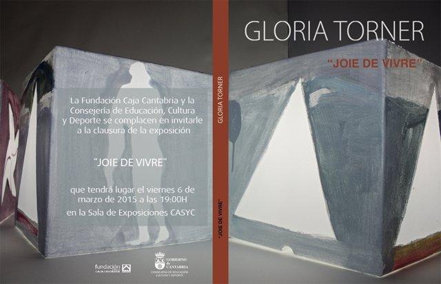 Imagen de la exposición de Gloria Torner