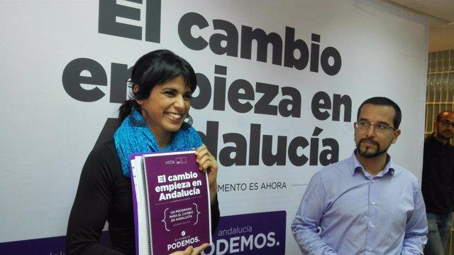 Teresa Rodríguez, hoy junto a Sergio Pascual