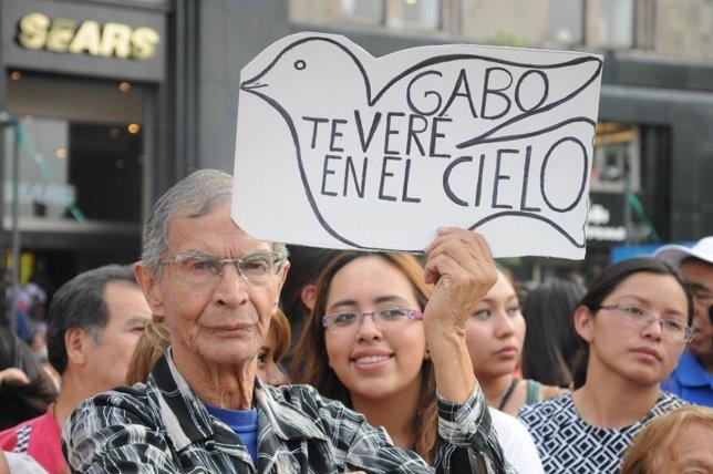 Primer cumpleaños de García Márquez sin él