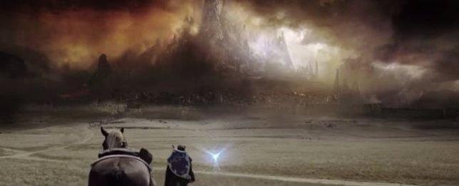 Escena del teaser tráiler de la película fan Legend of Zelda: The Final Battle