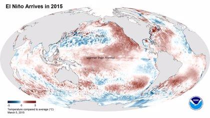 El fenómeno de 'El Niño' ya ha llegado, aunque con retraso