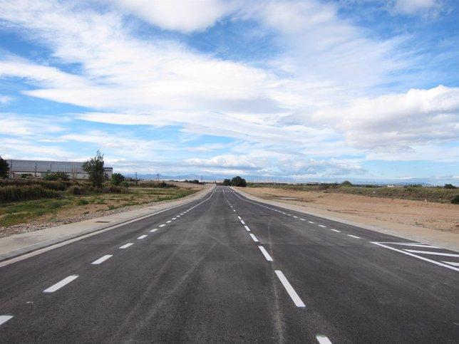 Vial norte de Figueruelas. Carretera, carreteras