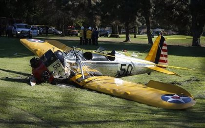 Harrison Ford se recuperará por completo tras su accidente aéreo en Los Ángeles