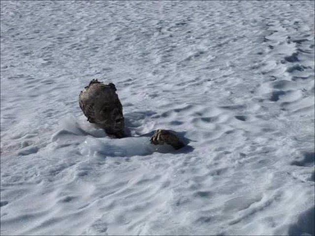 Alpinista momificado en México