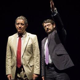 """""""Ruz-Bárcenas"""" Es Una Obra Teatral Escrita Por Jordi Casanovas Y Dirigida Por Al"""