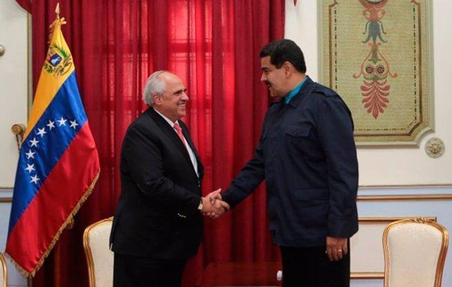 Ernesto Samper y Nicolás Maduro