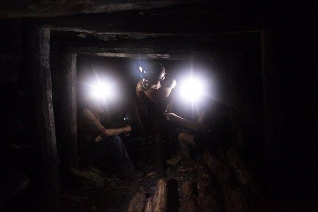 Mineros mexicanos
