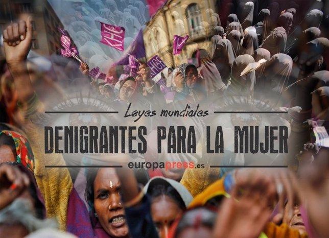 Día internacional de la mujer, portada
