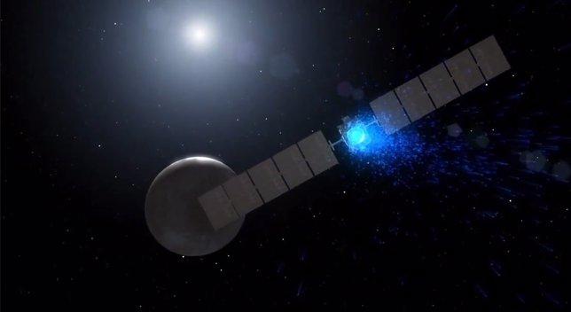 La nave espacial Dawn se aproxima al planeta Ceres