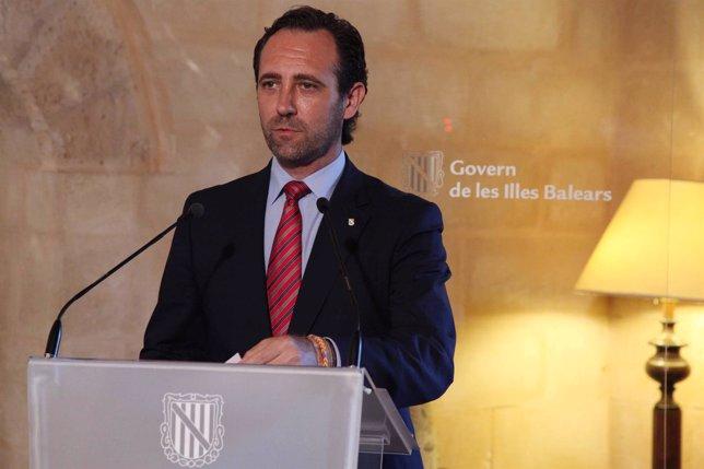 El presidene del Gobierno de las Islas Baleares, José Ramón Bauzá