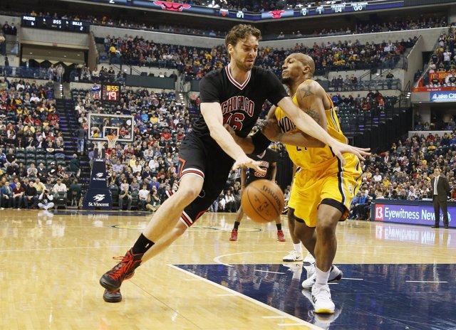 Pau Gasol NBA Chicago Bulls Indiana Pacers
