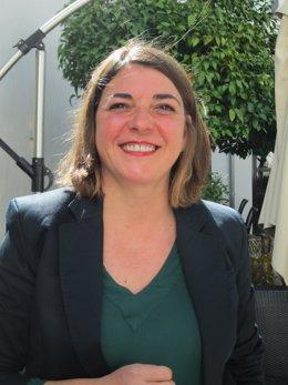 La cabeza de lista de IU por Córdoba al Parlamento andaluz, Elena Cortés