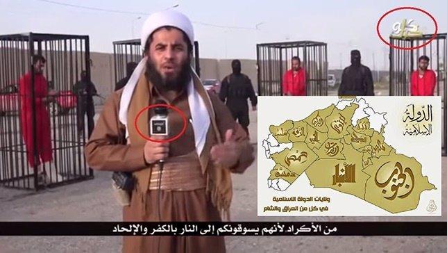 Reportero de una de las productoras locales de Estado Islámico
