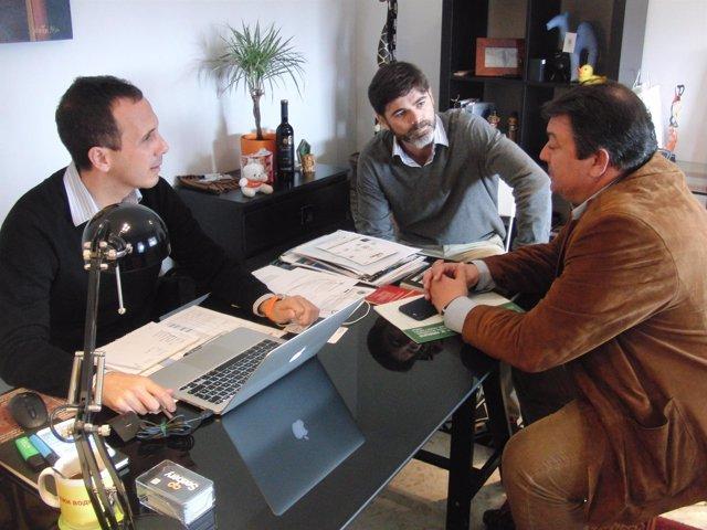 Reunión de delegado Economía con Seabery