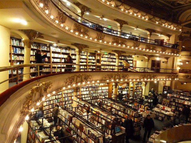 El Ateneo Grand Splendid buenos aires argentina librería