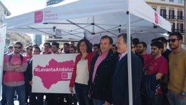 """UPyD critica que Susana Díaz """"haga campaña política"""" con los medios de la administración """"y con el coche oficial"""""""