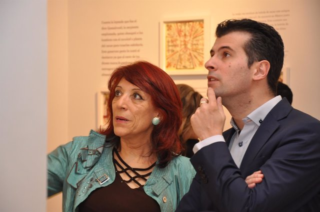 Visita de Luis Tudanca al Museo del Chocolate de Astorga