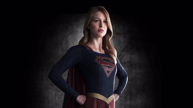 Melissa Benoist convertida en Supergirl