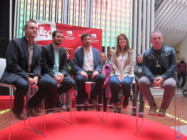 Presentación de candidaturas de EUPV en Valencia