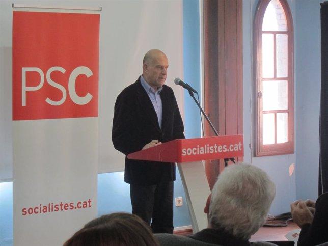 El secretario de Cultura del PSC, Joan Francesc Marco