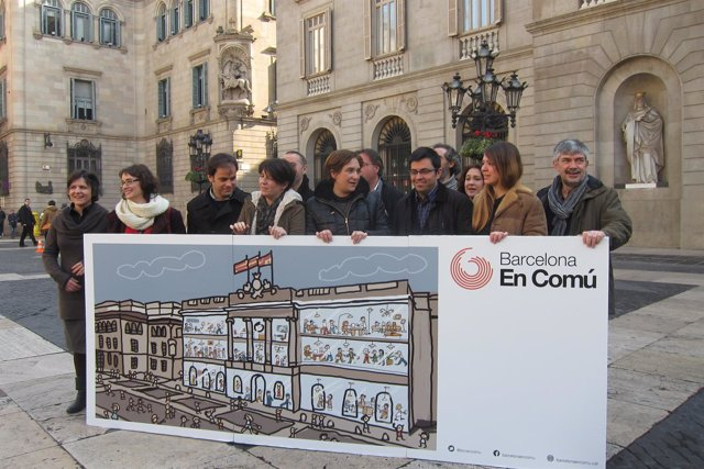 Lista de Ada Colau para liderar Barcelona en Comú