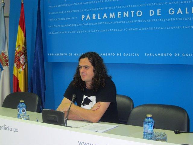 El diputado de AGE Antón Sánchez
