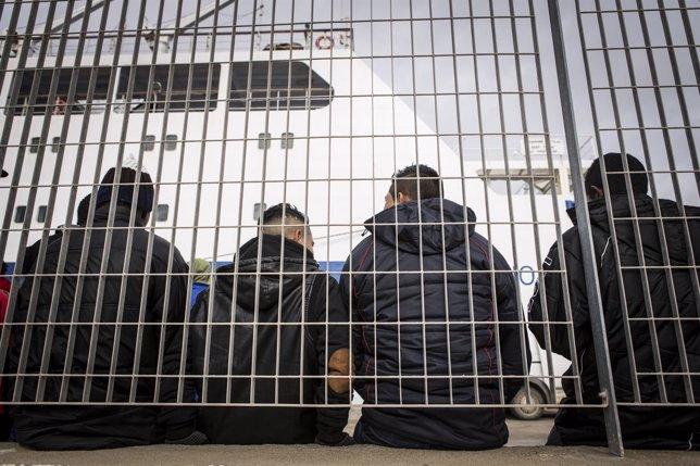 Niños inmigrantes lampedusa