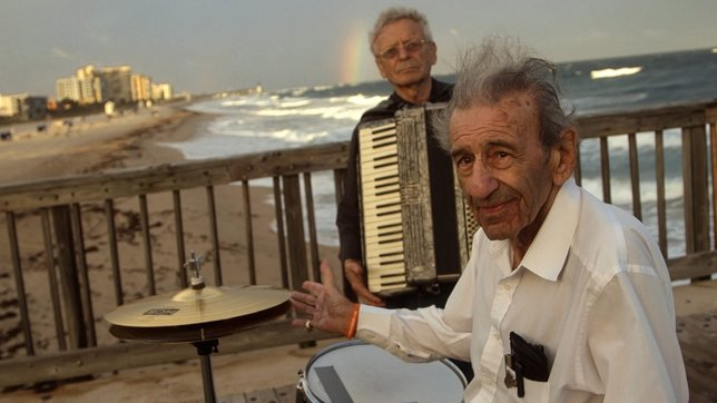 La banda de músical tradicional Klezmer, Holocaust Survivor Band