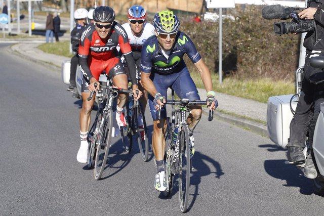 Strade Bianche 2015 Alejandro Valverde Movistar