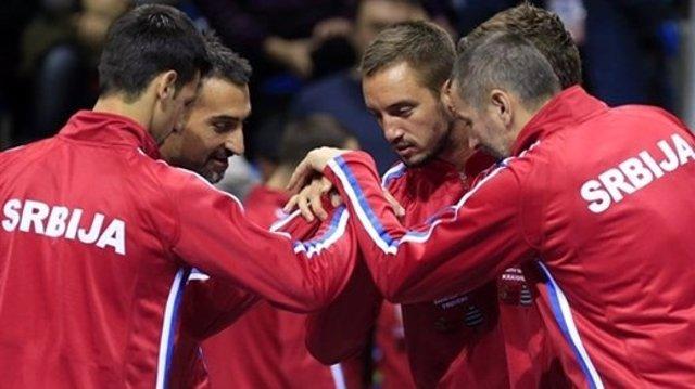 La Serbia de Novak Djokovic en la Copa Davis