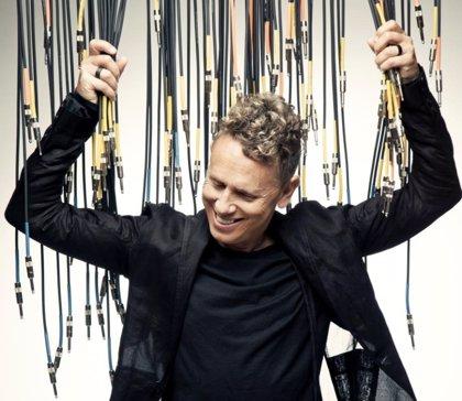 Martin Gore (Depeche Mode) publica un disco de música electrónica instrumental