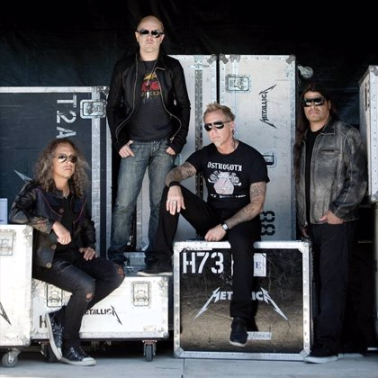 Metallica están cerca de terminar su nuevo disco