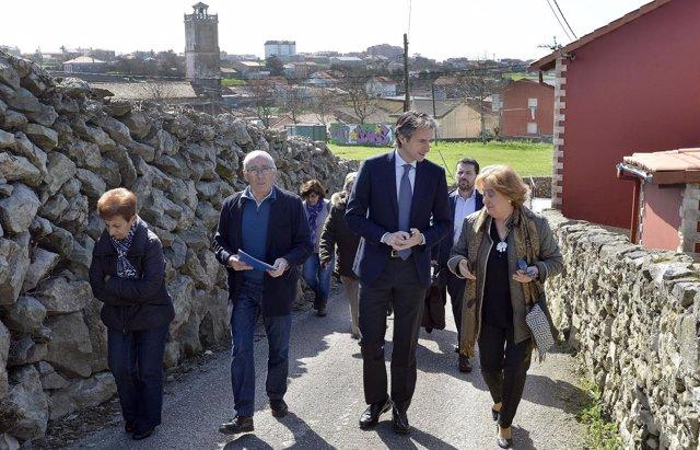 El alcalde en Cueto