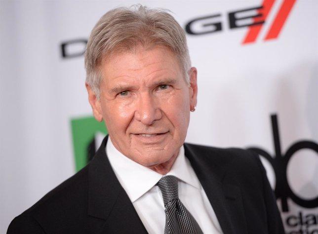 Harrison Ford en una presentación