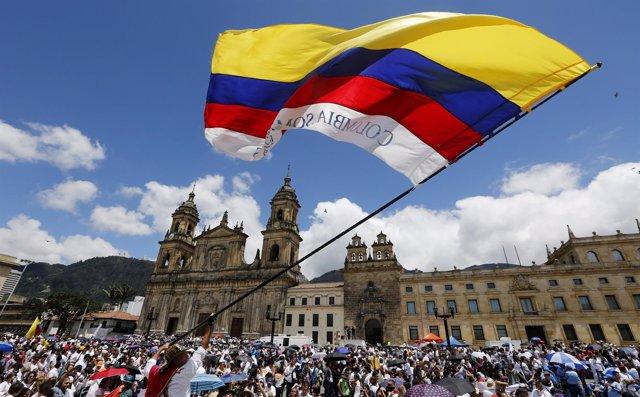 Marcha por la Vida en Bogotá