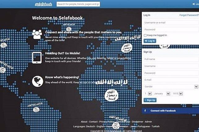 Captura de pantalla de la red social 5elafabook