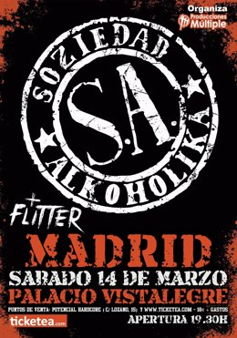 Soziedad Alkoholika en Madrid