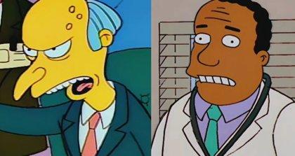 Los personajes de Sam Simon para Los Simpson