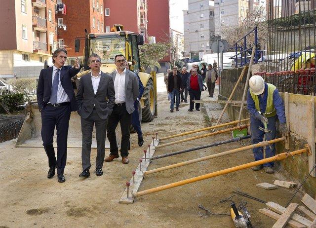 Visita a las obras de renovación del Grupo Benidorm